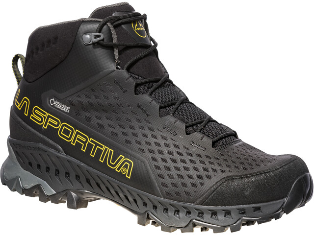 La Sportiva Stream GTX Buty Mężczyźni, black/yellow